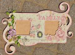 Country Charm Frame **Scraps of Elegance