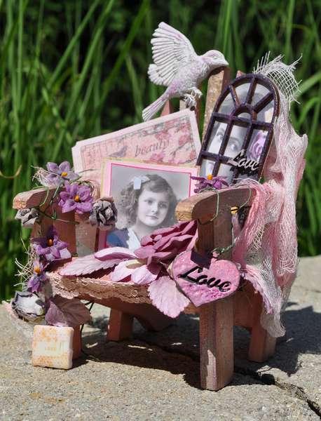 Country Charm Chair **Scraps of Darkness**GlobeCraft Memories*