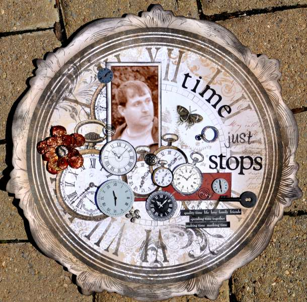 """Time Just Stops"" ****Scraps of Darkness***"