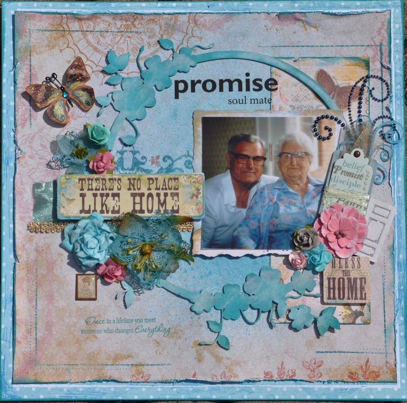 """Promise  """" Scraps of Elegance"""""""