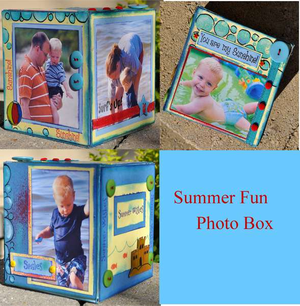 Celebrating Summer Fun Box **Clearsnap**