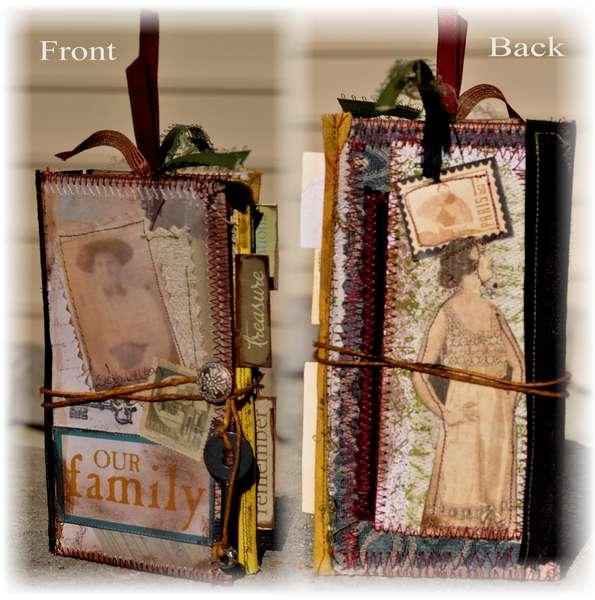 Vintage Manilla Folder Journal *Clearsnap**