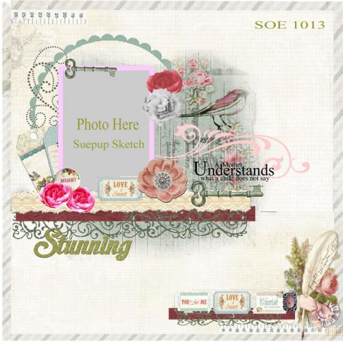 Simply Shabby Chic Sketch **Scraps of Elegance