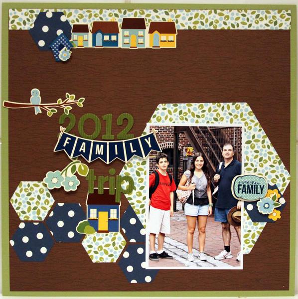 2012 FAMILY TRIP  *** MY CREATIVE SCRAPBOOK***