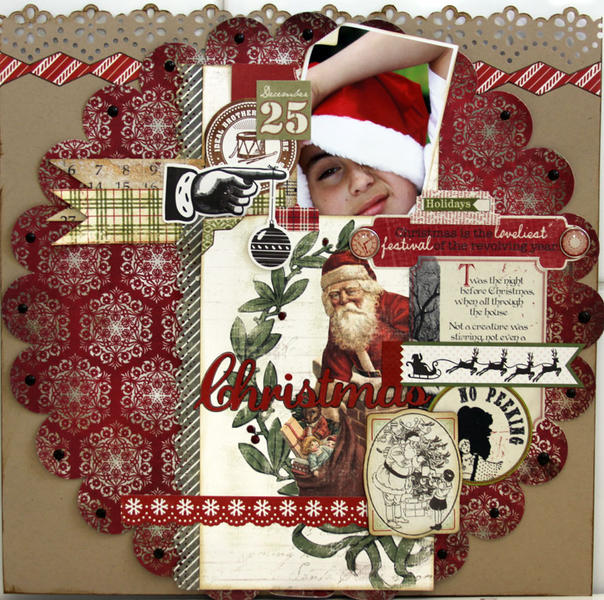 CHRISTMAS *** MY CREATIVE SCRAPBOOK***