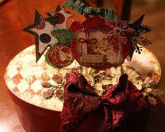 CHRISTMAS ORNAMENT *** BO BUNNY***