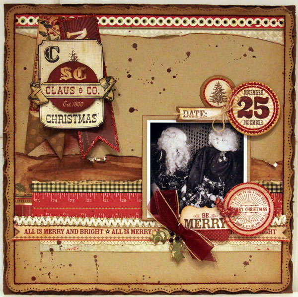 CLAUS AND CO ***MY CREATIVE SCRAPBOOK***