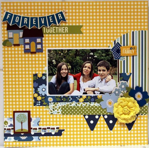 FOREVER TOGETHER  *** MY CREATIVE SCRAPBOOK***
