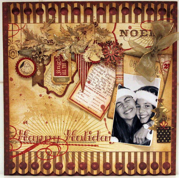 HAPPY HOLIDAYS *** MY CREATIVE SCRAPBOOK ***