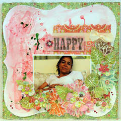 HAPPY *** MY CREATIVE SCRAPBOOK***