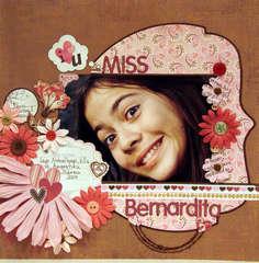 I LOVE YOU MISS BERNARDITA