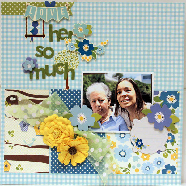 LOVE HER SO MUCH  *** MY CREATIVE SCRAPBOOK***