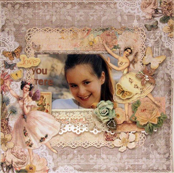 LOVE YOU TERE  ***MY CREATIVE SCRAPBOOK***