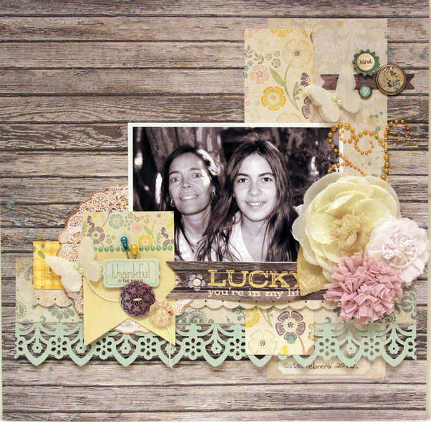 LUCKY YOU�RE IN MY LIFE