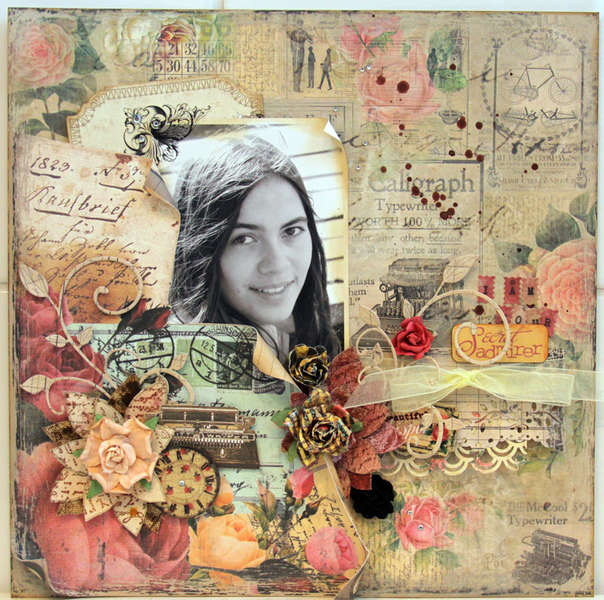SECRET ADMIRER*** MY CREATIVE SCRAPBOOK***