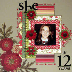 SHE IS 12 YEARS