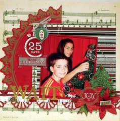 WAIT 25 DAYS UNTIL CHRISTMAS