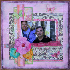 YOU BRIGHTEN MY DAY *** MY CREATIVE SCRAPBOOK***
