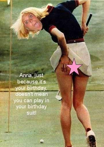 Anna's Birthday Card - Front