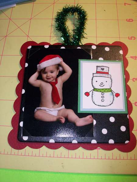 Christmas Coaster Ornament (2)