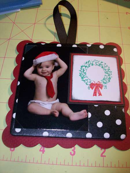 Christmas coaster ornamnet (3)