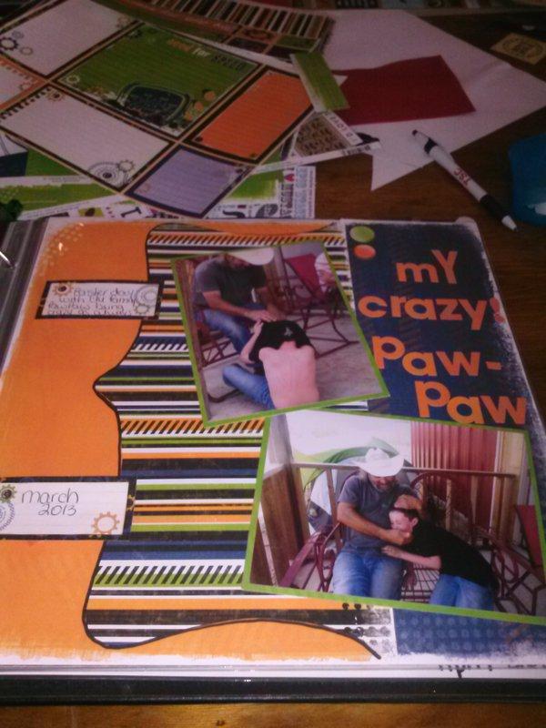 my crazy pawpaw