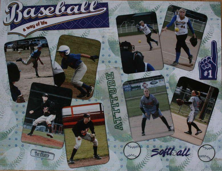 Baseball June 2010 calendar (top)