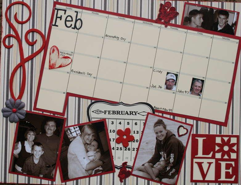 February 2010 calendar (bottom)