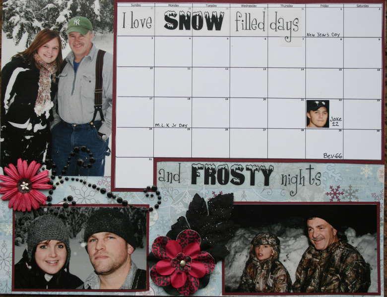 January 2010 calendar (bottom)