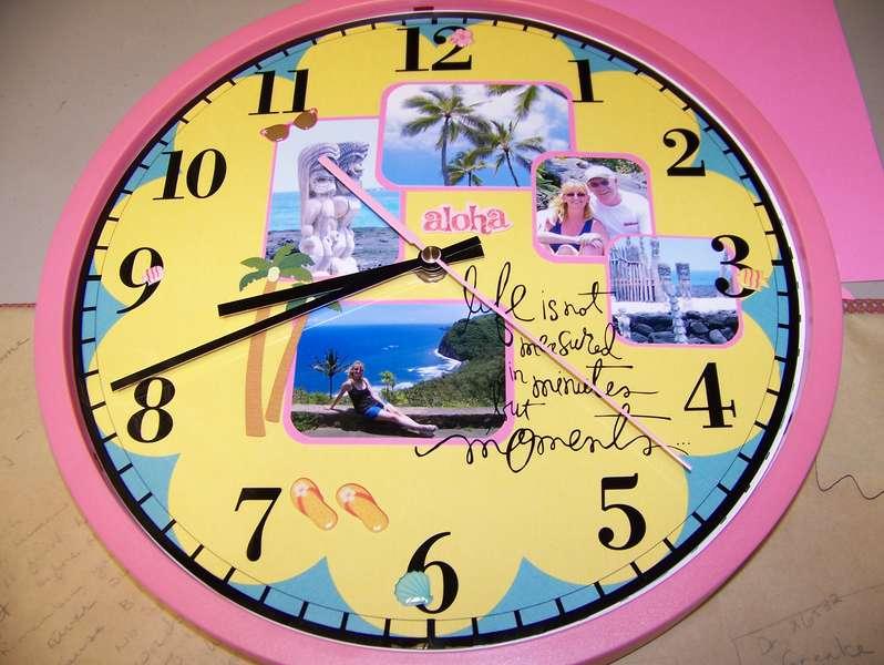 Hawaii Clock