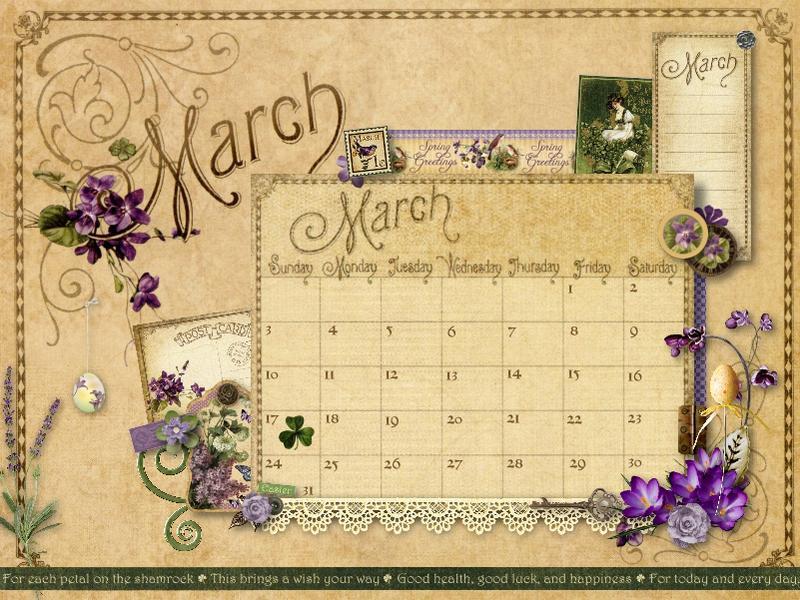 March Desktop