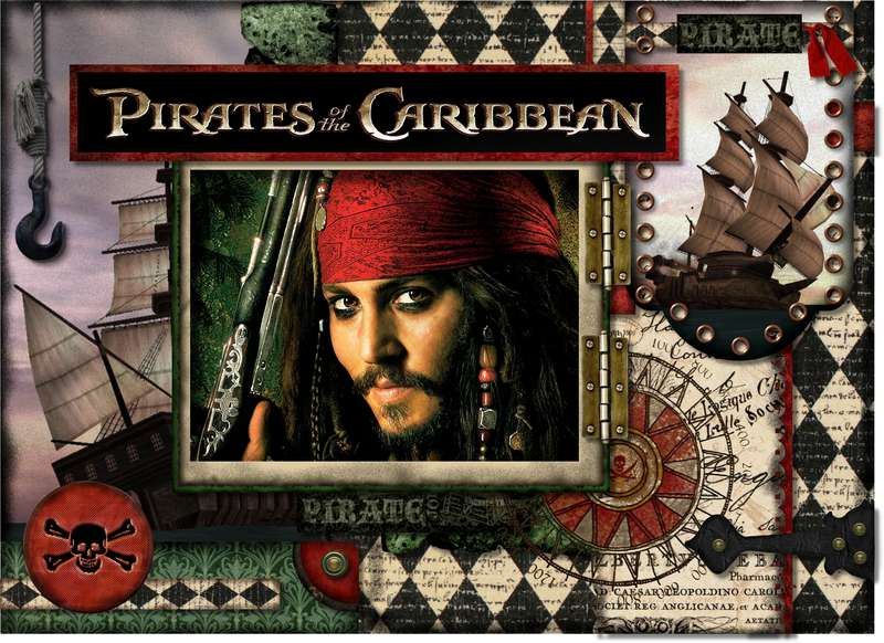 Pirates of the Caribbean Card