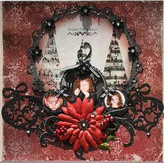 Merry Christmas-Swirlydoos