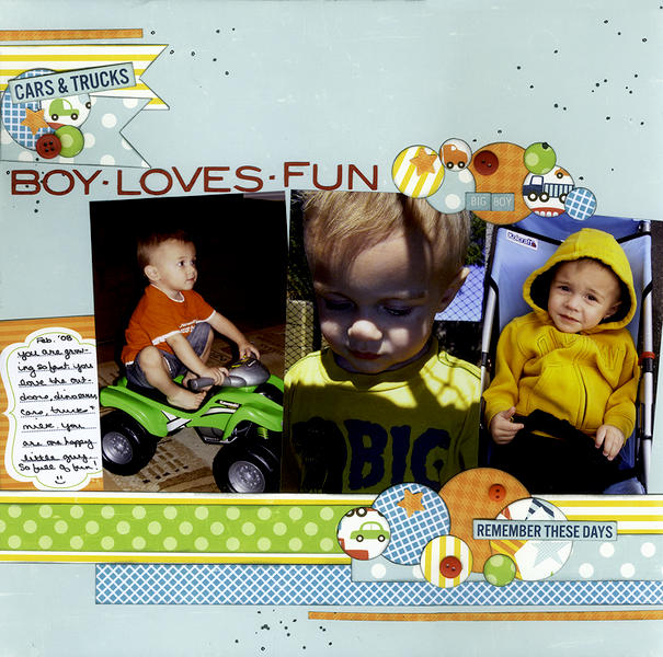 Boy Loves Fun