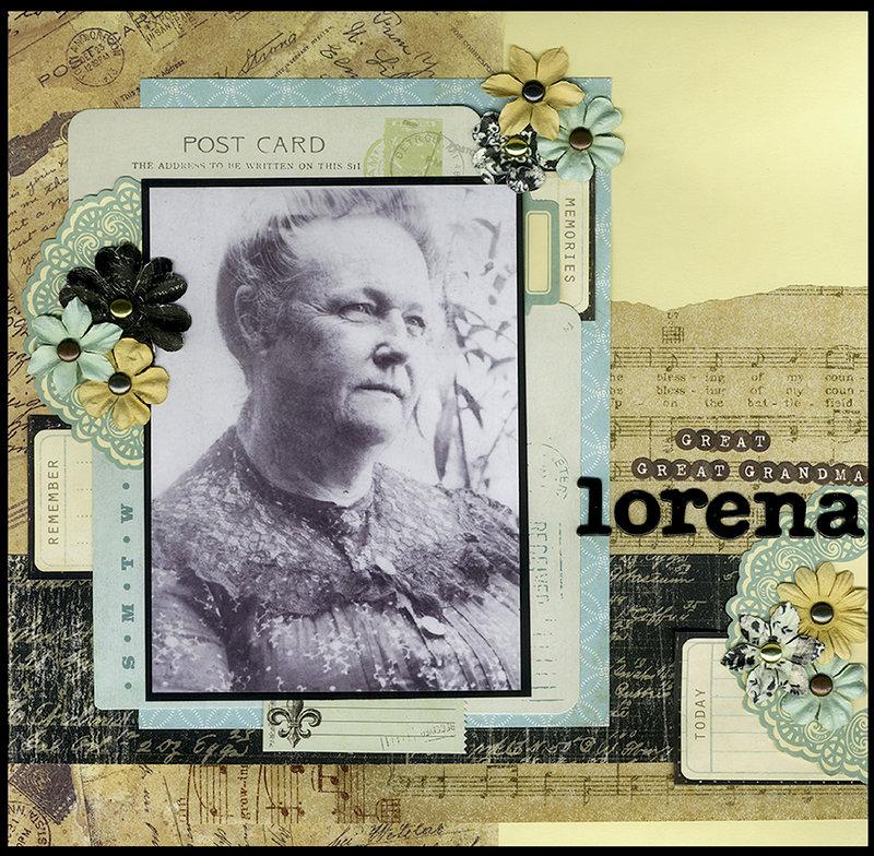 Great Great Grandma Lorena