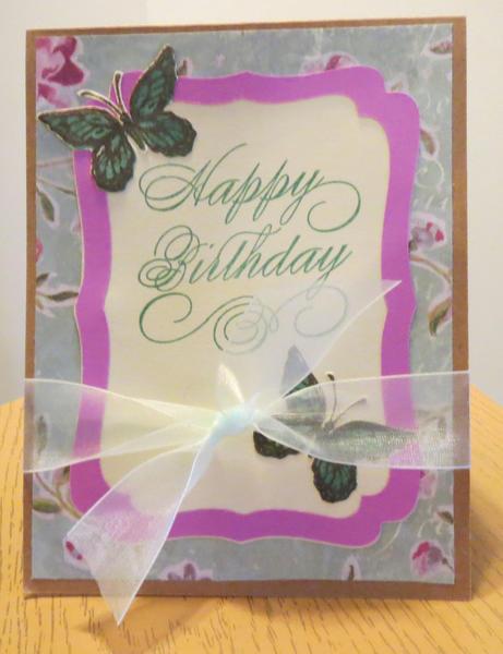 Birthday Card for Aunt Cyndi