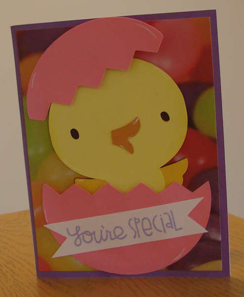 Ava's Easter Card