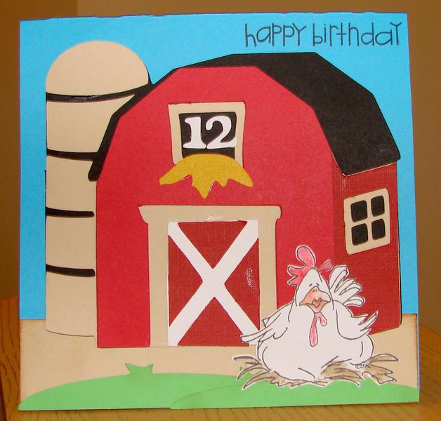 Ava's Birthday Card 1