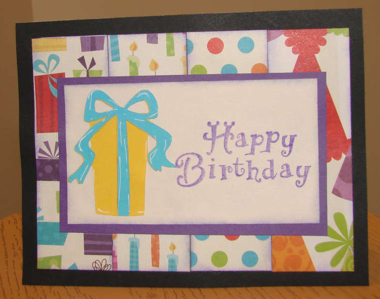 Birthday card for Operation Write Home