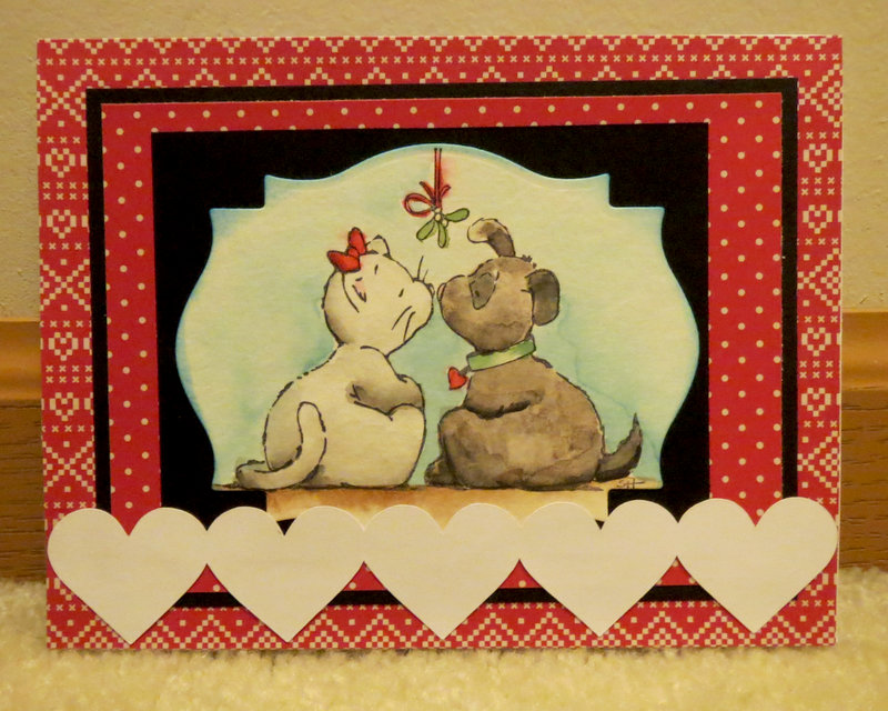 Mistletoe Christmas Card 2015 - 3