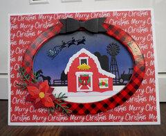 Barn Christmas Card 1