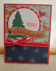 Christmas Tree Card 1