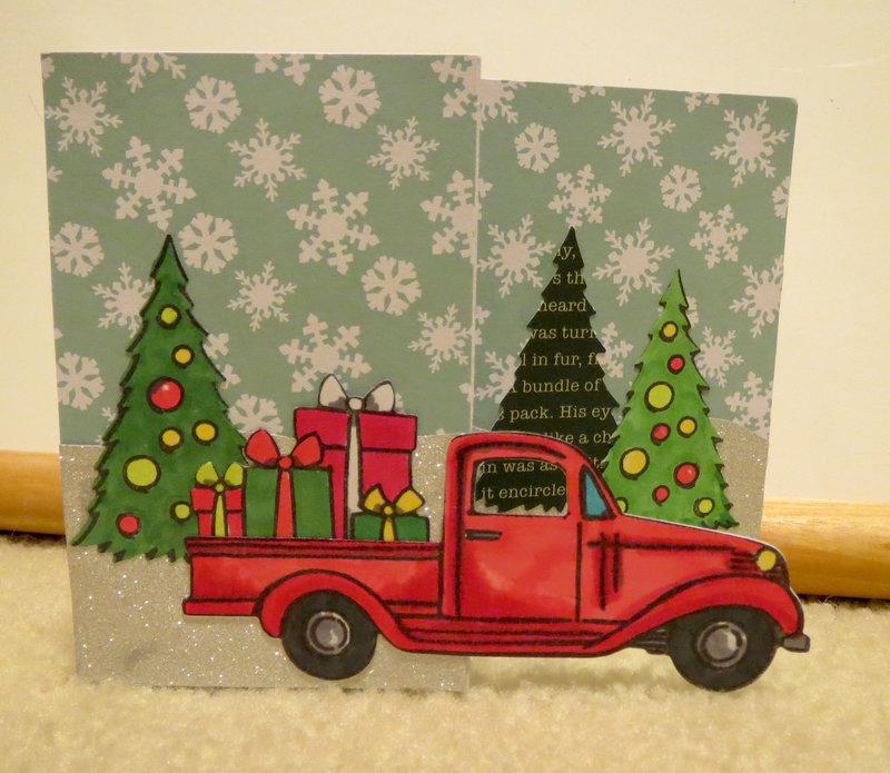 Z-Fold Christmas Card