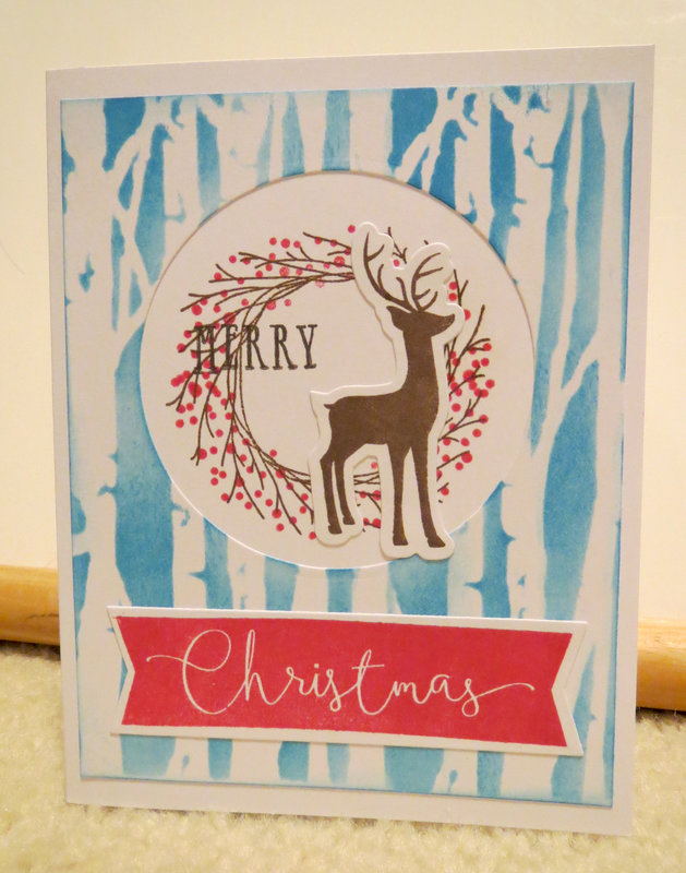 Wreath Deer Card 2
