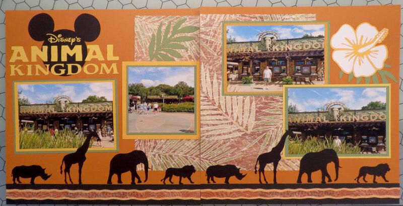 Animal Kingdom Safari Layout