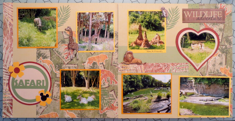 Safari layout - Animal Kingdom Orlando