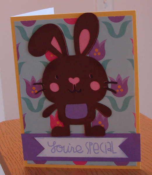 Easter Bunny Card 1