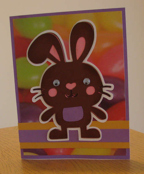 Easter Bunny Card 2