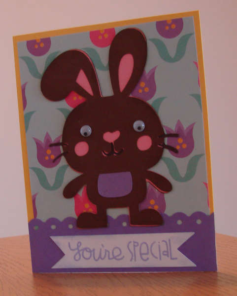 Easter Bunny Card 1