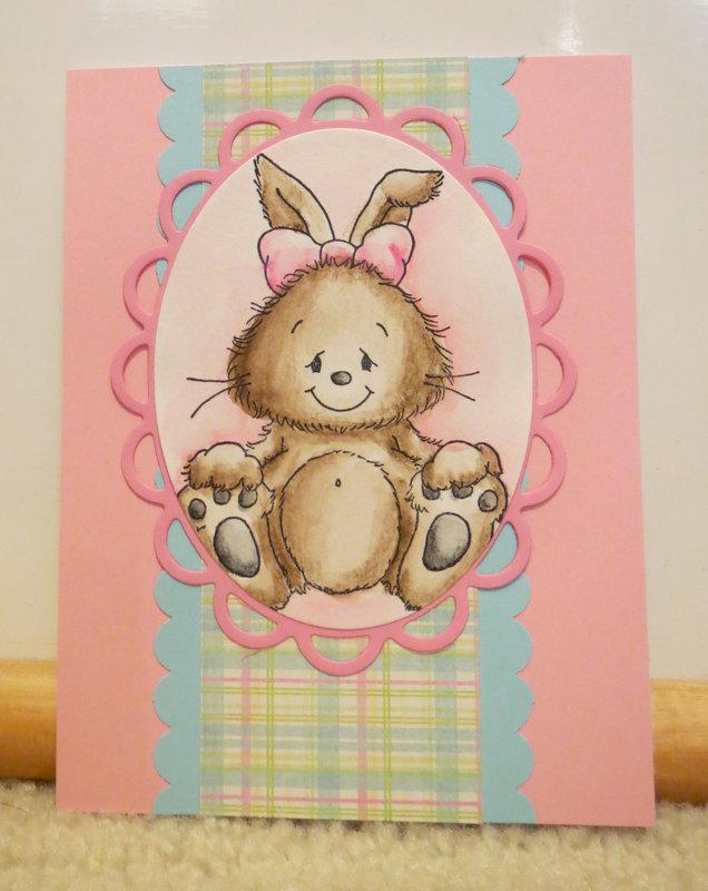 Bunny card 4